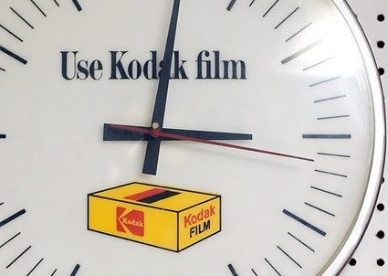 kodak-film-promotional-cloc