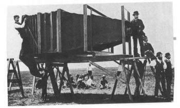 Cámara fotográfica antigûa más grande del mundo